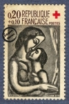 Sellos de Europa - Francia -  Georges-Henri Rouault - Il Serait si Doux d'Aimer
