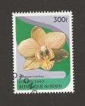 Stamps Benin -  Phalaenopsis christi