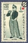 Sellos de Europa - Francia -  Édouard Manet - El pífano -1866