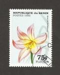 Stamps Benin -  Amarilis belladonna