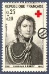 Sellos del Mundo : Europa : Francia : Barón Dominique-Jean Larrey (1766-1842)