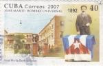 Stamps Cuba -  José Martí- hombre universal