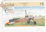 Stamps Cuba -  autogiro
