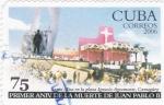 Stamps Cuba -  primer aniversario de la muerte de Juan Pablo II