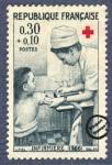 Sellos de Europa - Francia -  Enfermera (1966)