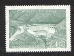 Stamps Chile -  Central Hidrieléctrica Rapel