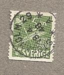Stamps Europe - Sweden -  Aniversario Prensa