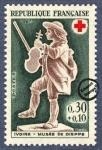Sellos de Europa - Francia -  Ivore - Museo De Dieppe - Violinista