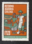 Stamps Chile -  Reforma Agraria