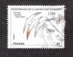 Stamps Panama -  Bicentenario de la Revolución Francesa