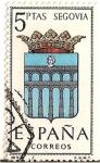 Stamps Spain -  España Correos / Segovia / 5 pecetas