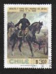 Sellos de America - Chile -  Gen. Manuel Baquedano