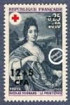 Sellos del Mundo : Europa : Francia : Nicolás Mignard (1606-1668) - La primavera