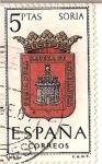 Stamps Spain -  España Correos / Soria / 5 pecetas