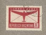Stamps Argentina -  Avión