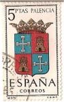 Stamps Spain -  España Correos / Palencia / 5 pecetas