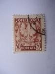 Sellos de Europa - Polonia -  Escudo de Armas de Polonia - Águila Imperial