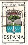 Sellos de Europa - España -  España Correos / Rio muni / 5 pecetas