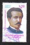 Stamps Chile -  Capitan Ignacio Carrera Pinto