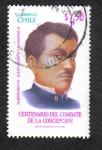 Sellos de America - Chile -  Sub Teniente Julio Montt Salamanca
