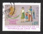 Stamps Chile -  Cardinal Caro