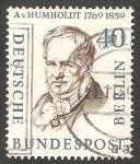 Sellos de Europa - Alemania -  Berlin - 150 A - Alexander von Humboldt