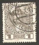 Sellos de Europa - Austria -  101 - Charles VI