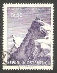 Stamps Austria -  931 - 75 Anivº del observatorio del monte Sonnblick