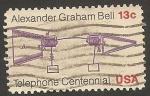 Sellos de America - Estados Unidos -  1132 - Centº del teléfono, Alexander Graham Bell