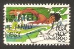 Stamps United States -  97 - Olimpiadas Los Angeles 84, natación femenina