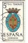 Stamps Spain -  España Correos / Tenerife / 5 pecetas