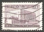 Stamps Finland -  447 - Parlamento de Helsinki