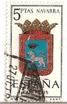 Sellos de Europa - España -  España Correos / Navarra / 5 pecetas