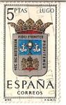 Stamps Spain -  España Correos / Lugo / 5 pecetas