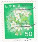 Sellos del Mundo : Asia : Japón : flores