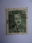 Sellos del Mundo : Oceania : Polonia :  Boleslaw Bierut (1892-1956) Presidente.