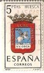 Stamps Spain -  España Correos / Huesca / 5 pecetas