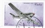 Stamps Cuba -  MESSERSCHMIT ME-109 (Alemania)-avión de combate