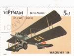 Sellos de Asia - Vietnam -  ND.29C 1-avión de combate