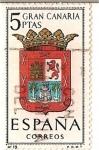 Stamps Spain -  España Correos / Gran canaria / 5 pecetas