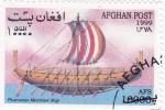 Sellos de Asia - Afganistán -  Phoenician Merchant- barco antiguo