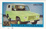 Sellos de Europa - Rumania -  coche ARO 240