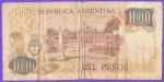 monedas del Mundo : America : Argentina :  BANCO CENTRAL DE ARGENTINA - PLAZA DE MAYO .( REVERSO)