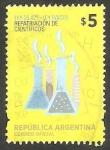 Stamps Argentina -  Repatriación de científicos