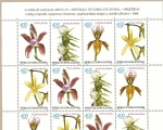 Stamps Africa - Equatorial Guinea -  FLORA -   Orquídeas