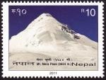 Sellos del Mundo : Asia : Nepal : NEPAL Parque Nacional de Sagarmatha