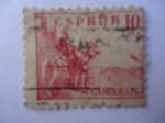 Stamps Spain -  El Cid