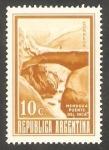 Stamps Argentina -  913 - Puente del Inca, en Mendoza