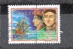 Sellos del Mundo : America : Venezuela : V Centenario de la llegada de Cristóbal Colón a Tierra Firme