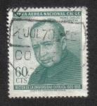 Sellos de America - Chile -  Monseńor Carlos Casanueva
